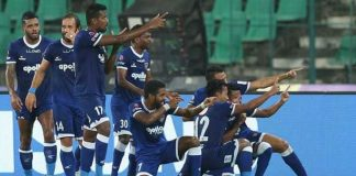 ISL Football Chennai team