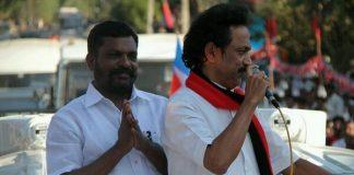 Thol Thirumavalavan in DMK