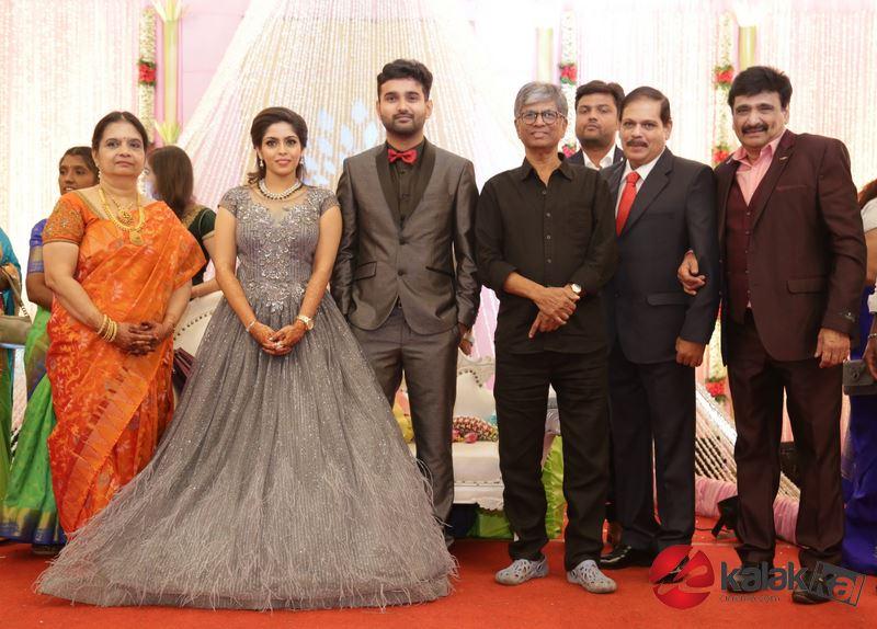 Actor Ramesh Khanna Son Wedding Reception Stills