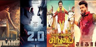 Collection Kings of 2018 in Tamil Cinema