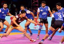 PRO Kabaddi - Haryana vs Delhi