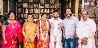 Director Anand Shankar Weds Divyanka Photos | Vikram, Sathyaraj, Thambi Ramaiah, Director A.R. Murugadoss, Producer Kalaipuli S. Thanu