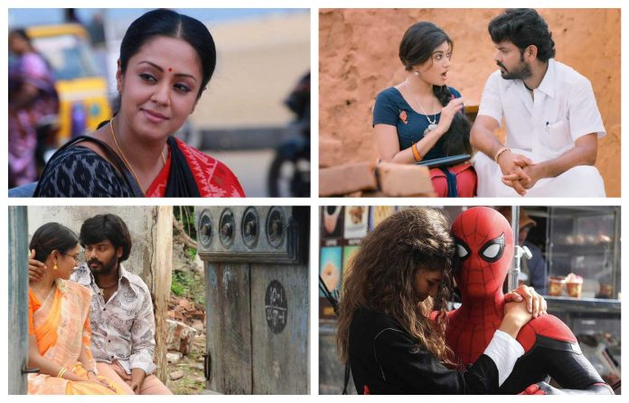 July 5 Movies Release List is Here - Which one is Your Choice?   Ratchasi   Kalavani 2   KMK   Kadhal Munnetra Kazhagam   Spider Man From Home
