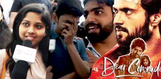 Dear Comrade Public Review : Bharat Kamma, Vijay Deverakonda, Rashmika Mandanna, Cinema Review, Kollywood , Tamil Cinema, Latest Cinema Review