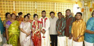 Actor Charlie Son Adithya weds Amirtha