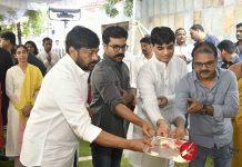 Megastar Chiranjeevi New Film Launch