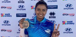 Deepika Kumari won the gold medal