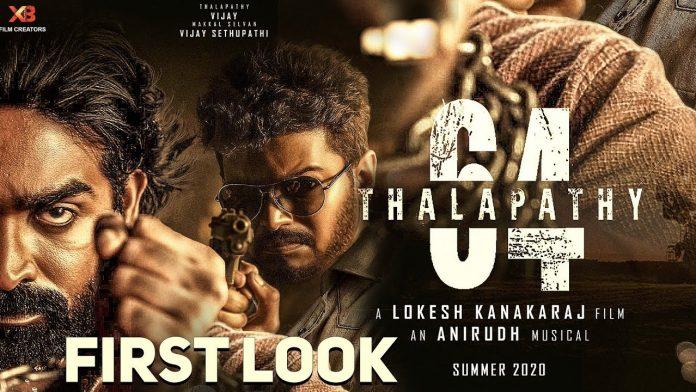 Vijay 64 First Look