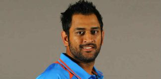 Two happy moments Dhoni