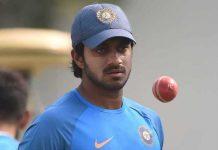 Vijay Shankar as captain