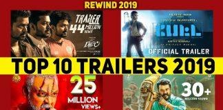 Top 10 Tamil Trailers 2019