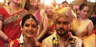 Cricketer marries Tamil actress
