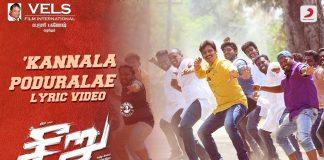 Kannaala Poduraaley Lyric Video