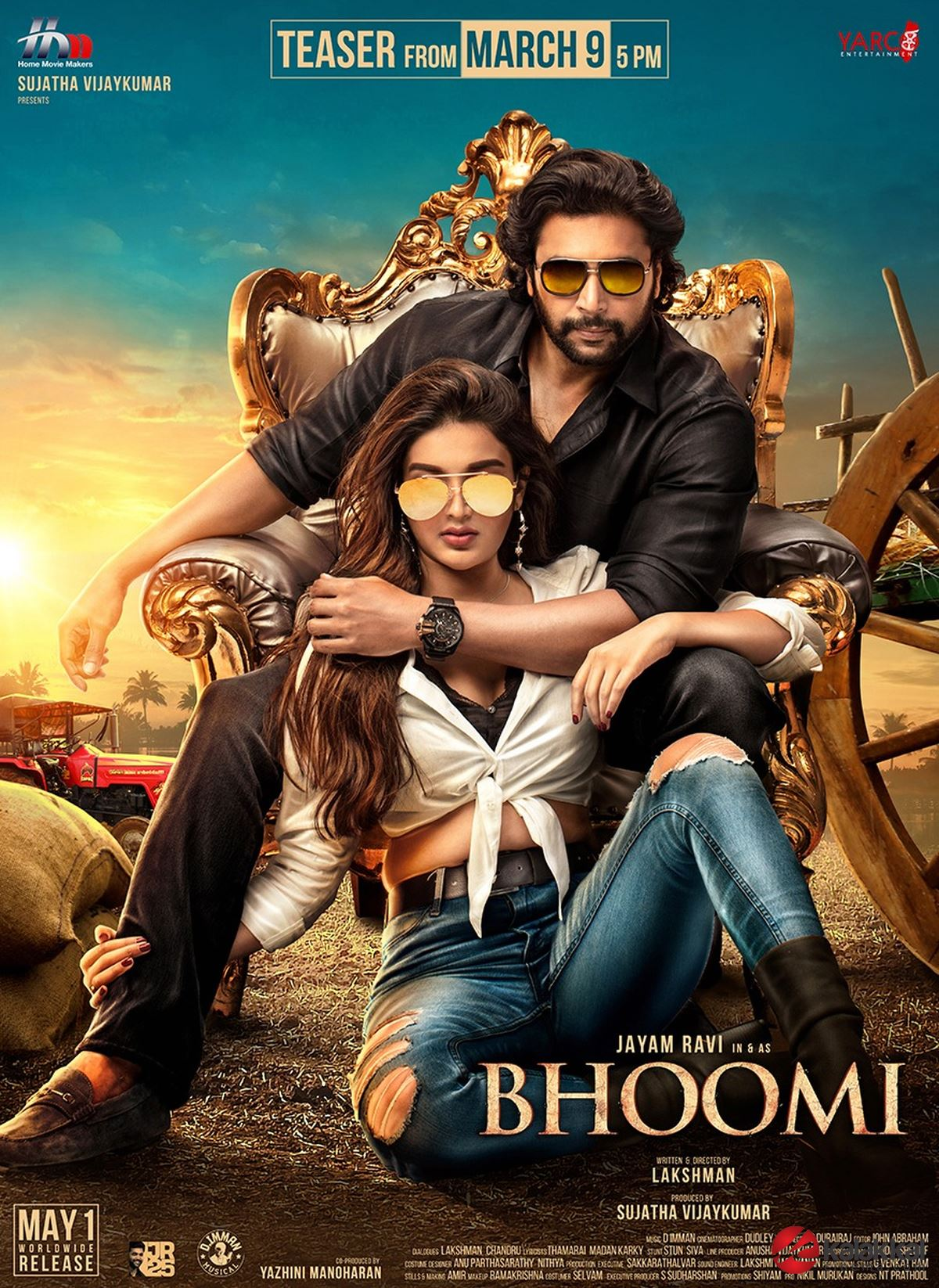 Bhoomi 3rd Look Poster