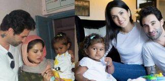 Sunny Leone Daughter Photo