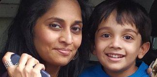 Shalini Selfie With Aadhvik