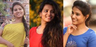 Cute Actress Dhivya Dhuraisamy Latest Stills