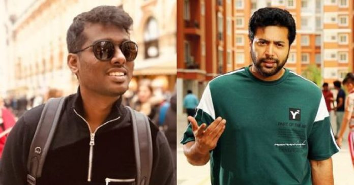 Jayam Ravi About Join With Atlee