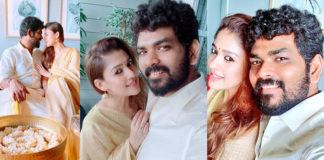 Actress Nayanthara celebrate Onam Photos