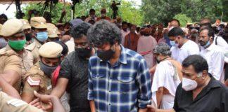 Thalapathy Vijay in SPB Funeral :