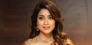 Shriya Saran First Look In Pan India Film Gamanam