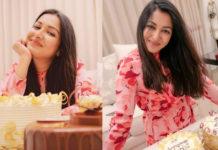 Actress Catherine Tresa Birthday Celebration Photos