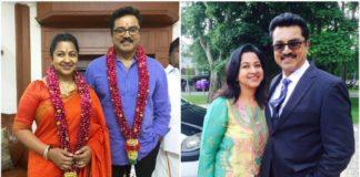Actor Sarathkumar Full Family Photo :
