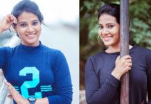 Actress Dhivya Dhuraisamy Latest Photoshoot Stills