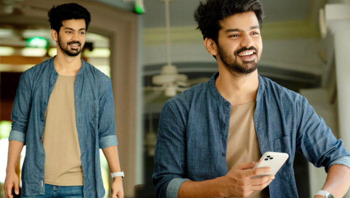 Cool and casual look of Actor Mahat