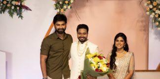 Editor Selva RK & Anitha Wedding Reception Photos
