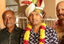 Actor Santhanam's Next Movie Pooja Stills