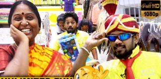 KPY Vinoth and Deepa Purchase in Velavan Stores