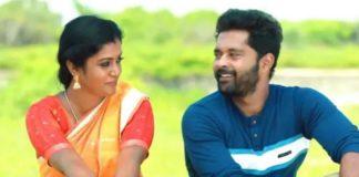 Bharathi Kannamma Fareena With Husband