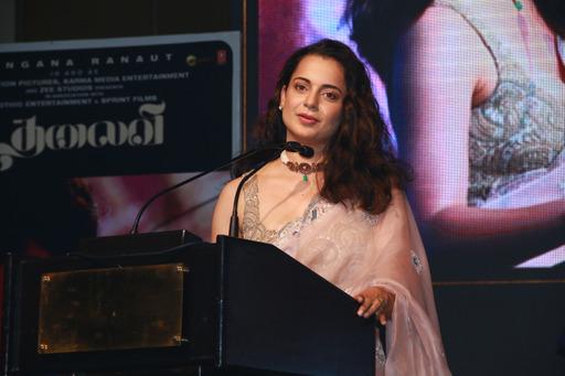 Thalaivi Trailer Launch Stills