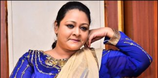 Actress Shakeela in Manimegalai Home