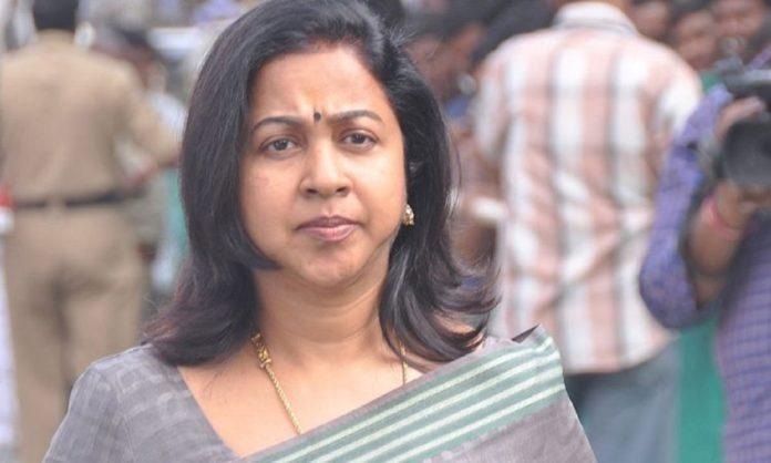 Actress Radhika in New Hair Style