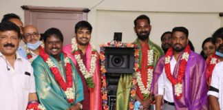 Sunny Leon and Sathish New Movie Launch