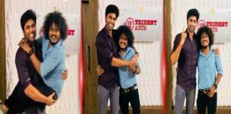 CWC Ashwin and Pugazh Movie Pooja