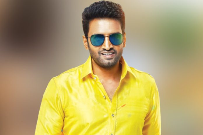 Actor santhanam wishes to CM