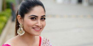 Shivani Narayanan in Half Saree