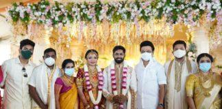 Director Shankar's Daughter Wedding Photos