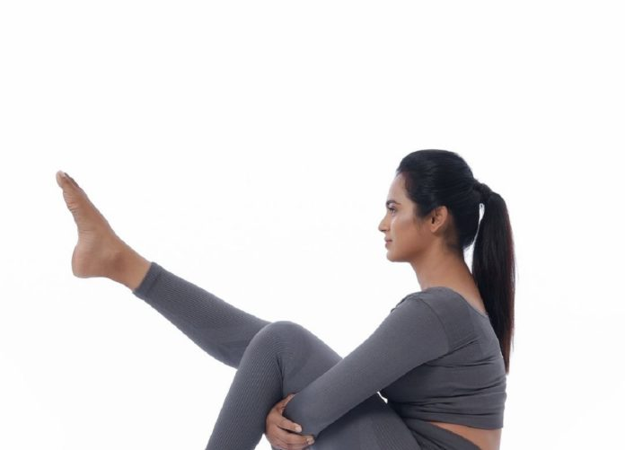 Ramya Pandian Yoga Photos