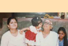 Manjima Mohan in Childhood Photo