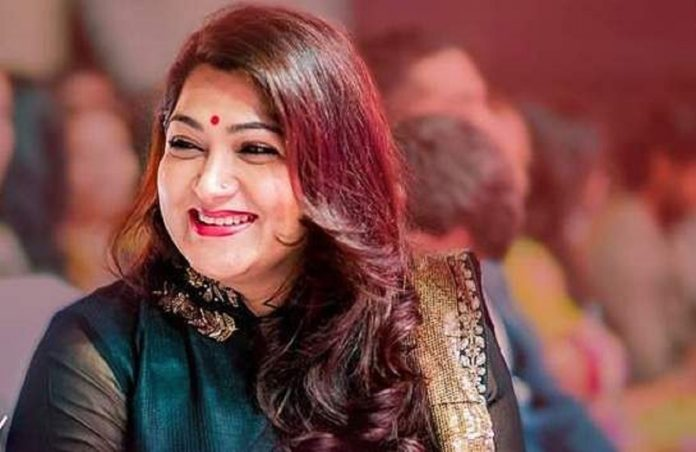 Kushboo Re-entry in Zee Tamil Serial