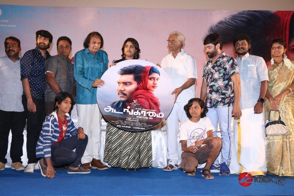 Adangamai Movie Audio Launch Stills