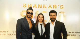 Ram Charan and Shankar Untitled Movie Pooja Stills
