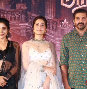Aranmanai 3 Movie Press Meet Stills
