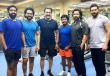 Ponniyin Selvan Actors With Ravi Varman